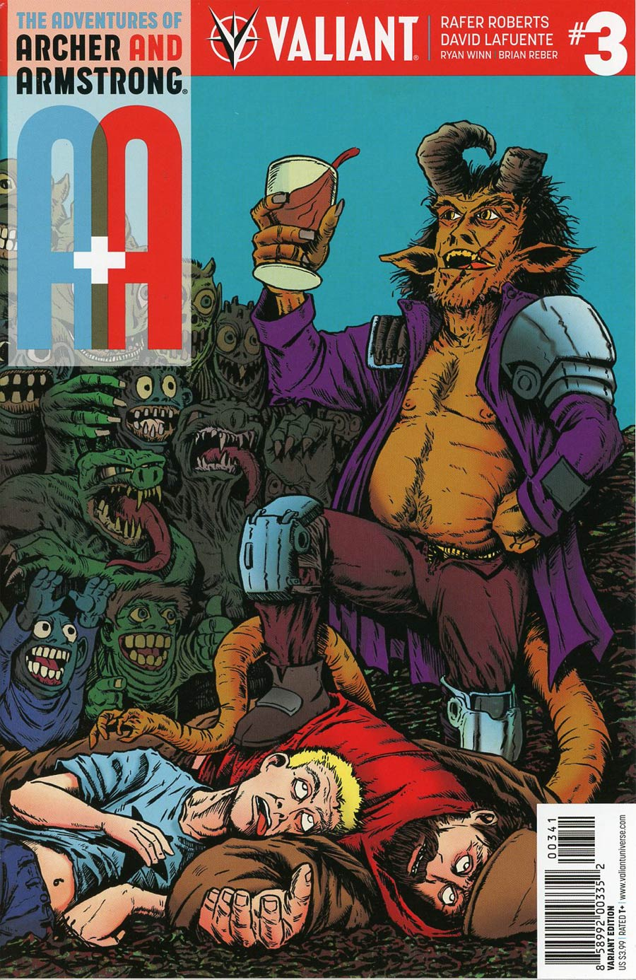 A&A #3 Cover D Incentive Rafer Roberts Variant Cover