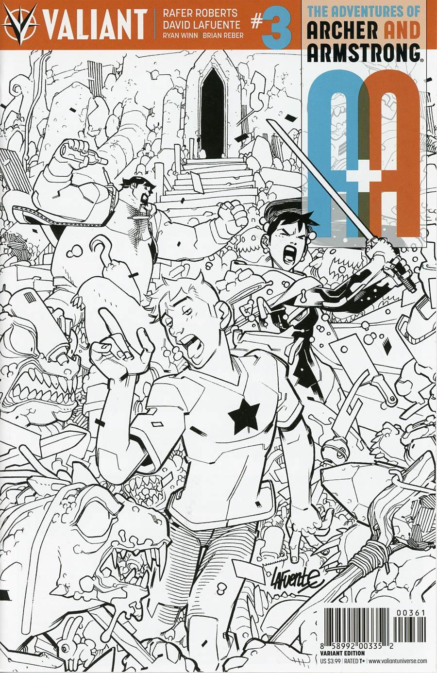 A&A #3 Cover F Incentive David Lafuente Sketch Cover