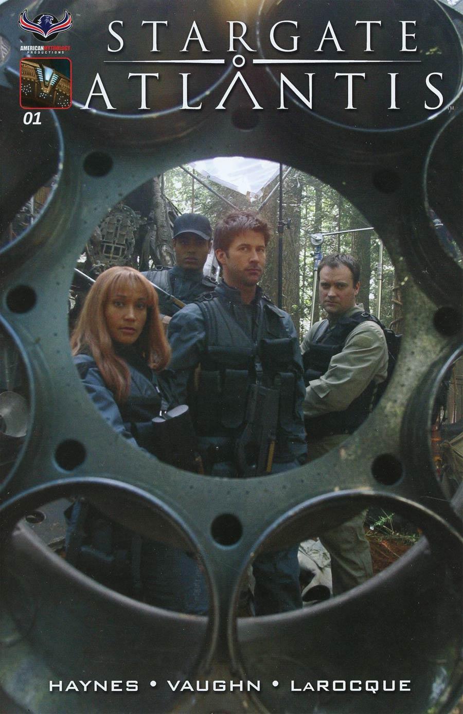 Stargate Atlantis Back To Pegasus #1 Cover E Incentive Flashback Variant Cover