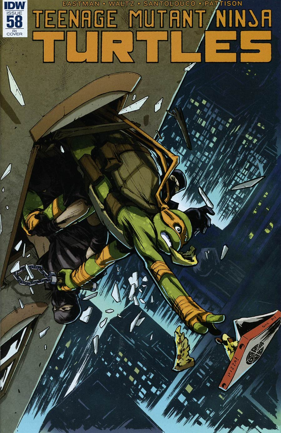 Teenage Mutant Ninja Turtles Vol 5 #58 Cover C Incentive Paolo Villanelli Variant Cover