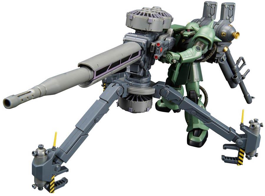 Gundam Thunderbolt High Grade 1/144 Kit - MS-06 Zaku II Zaku + Big Gun Set (Gundam Thunderbolt Ver.)