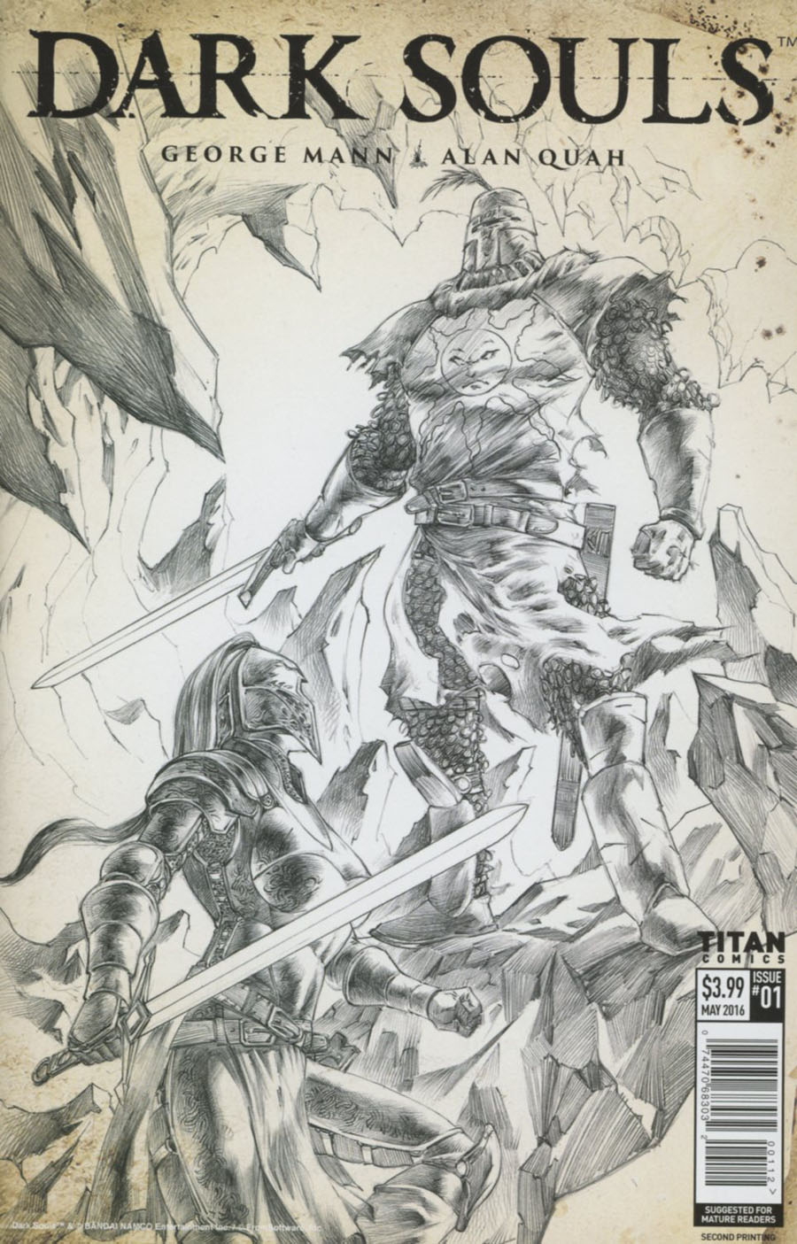 Dark Souls #1 Cover F 2nd Ptg Alan Quah Variant Cover