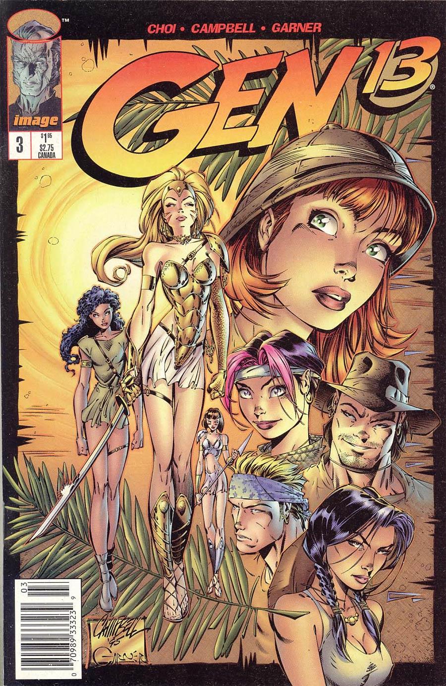 Gen 13 Vol 2 #3 Cover B Newsstand