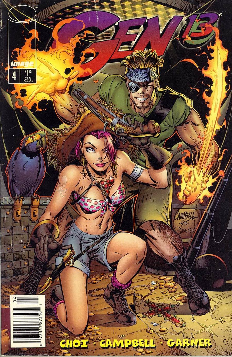 Gen 13 Vol 2 #4 Cover B Newsstand