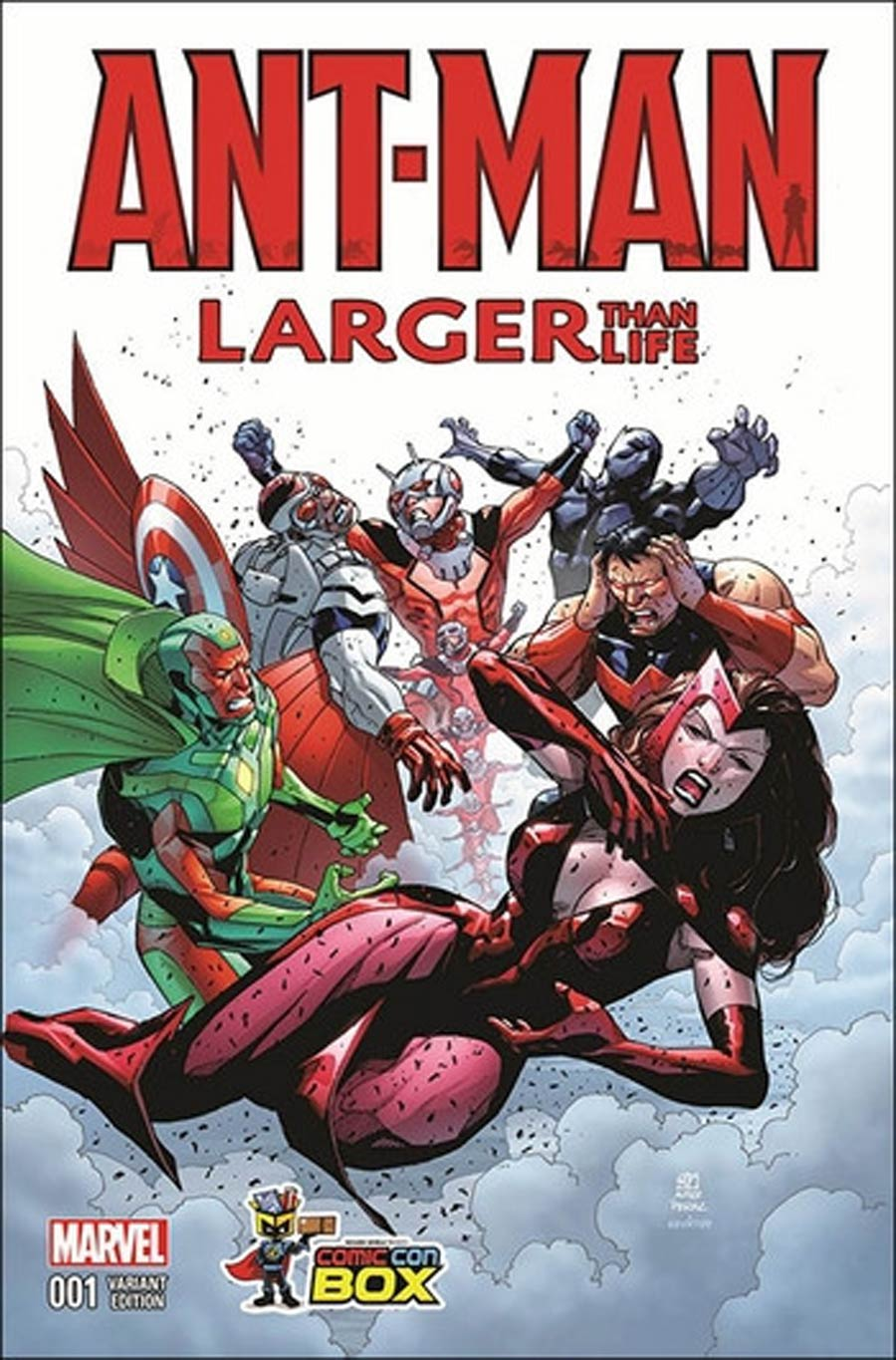 Ant-Man Larger Than Life #1 Cover B Wizard World Comic Con Box Color Variant Cover Khoi Pham