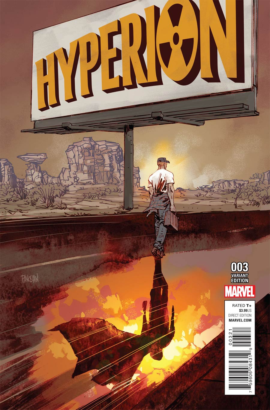 Hyperion #3 Cover B Incentive Dan Panosian Variant Cover