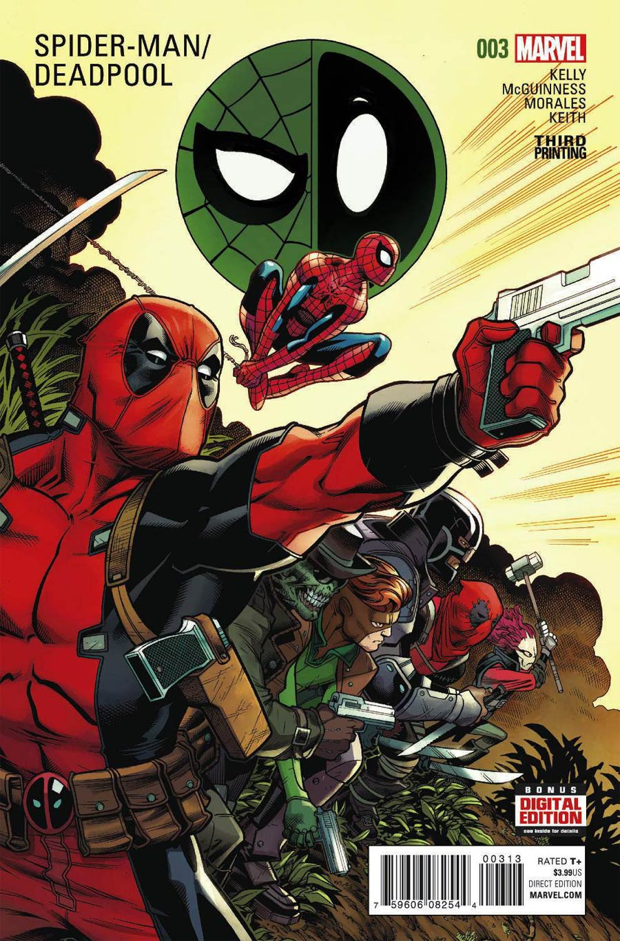 Spider-Man Deadpool #3 Cover D 3rd Ptg Ed McGuinness Variant Cover