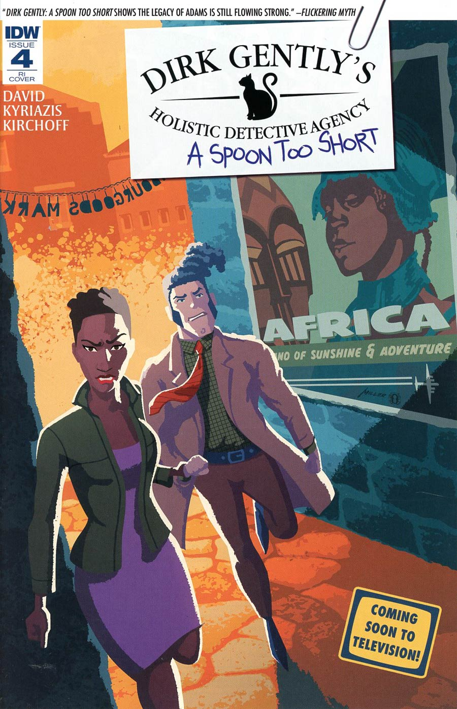 Dirk Gentlys Holistic Detective Agency A Spoon Too Short #4 Cover C Incentive Brian Miller Variant Cover