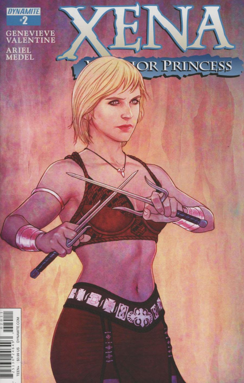 Xena Warrior Princess Vol 3 #2 Cover A Regular Jenny Frison Cover
