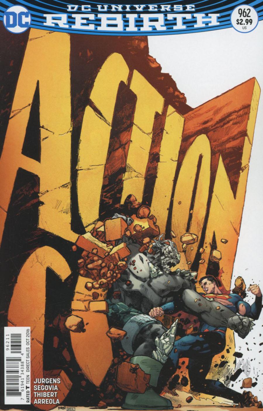 Action Comics Vol 2 #962 Cover A Regular Clay Mann Cover