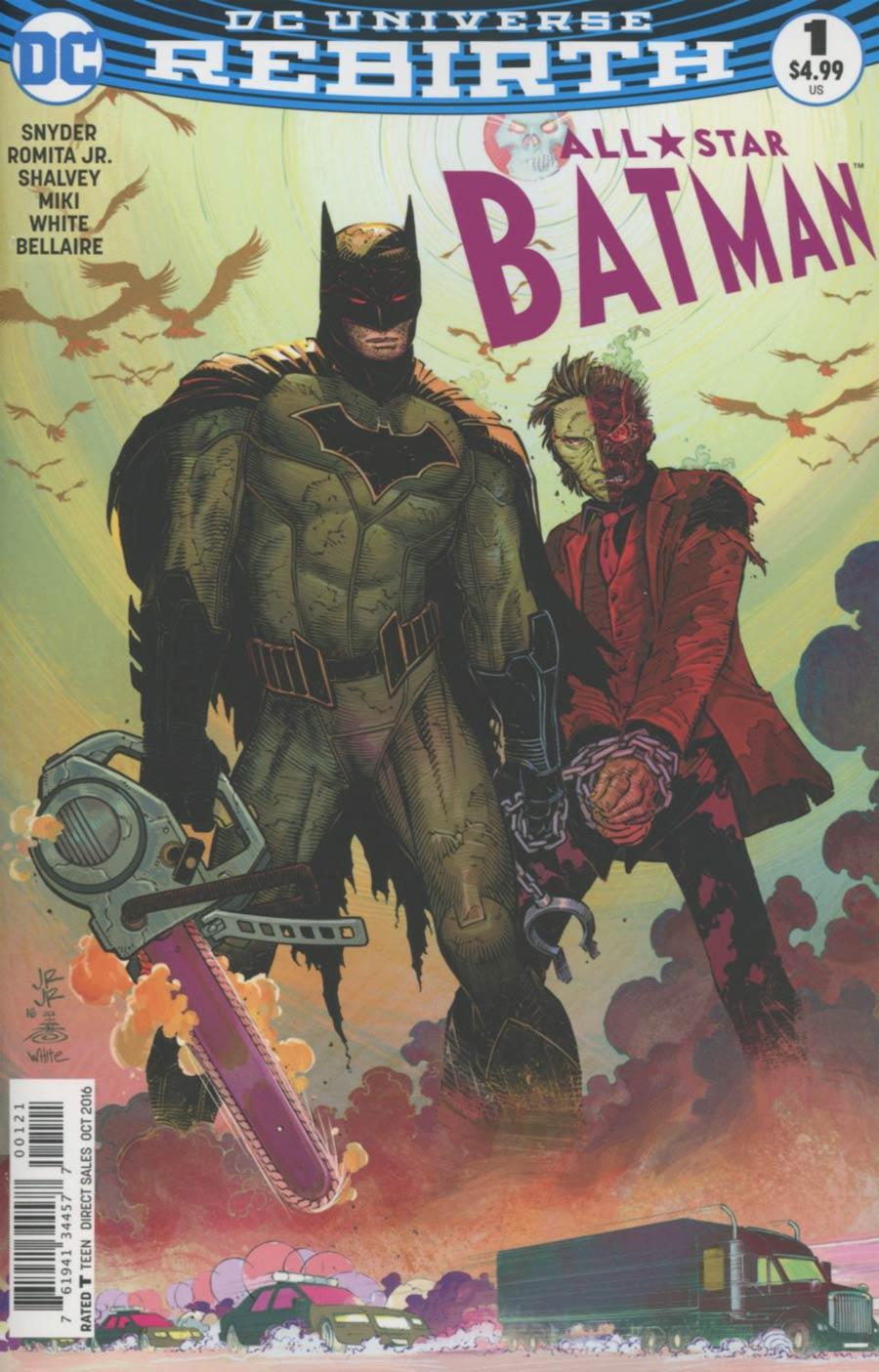 All-Star Batman #1 Cover D Variant John Romita Jr Cover