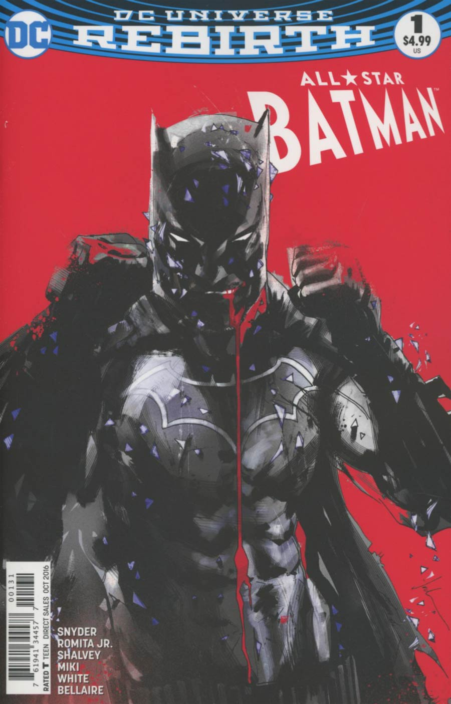 All-Star Batman #1 Cover E Variant Jock Cover