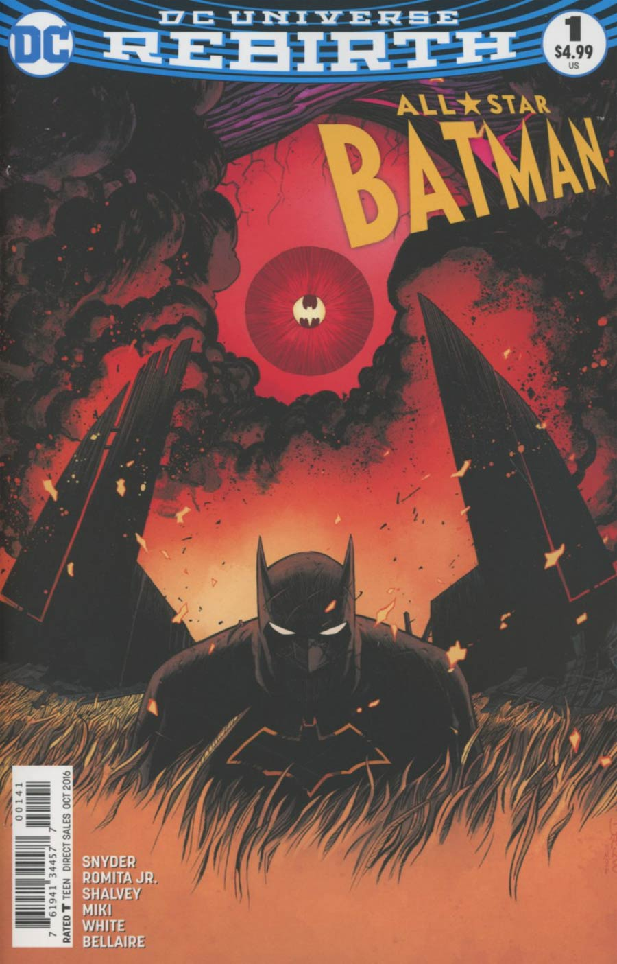 All-Star Batman #1 Cover F Variant Declan Shalvey Cover
