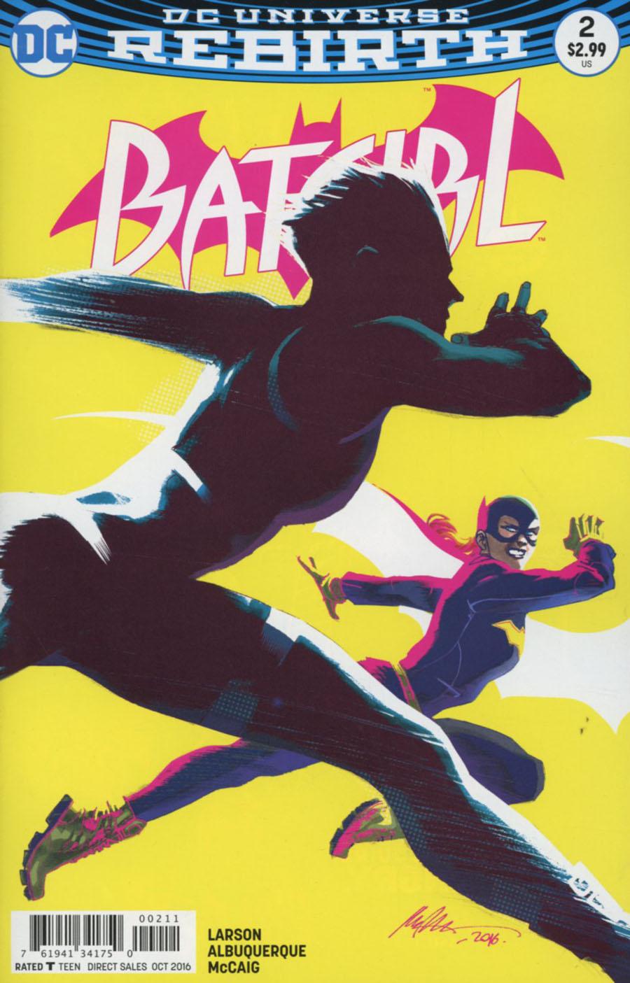 Batgirl Vol 5 #2 Cover A Regular Rafael Albuquerque Cover
