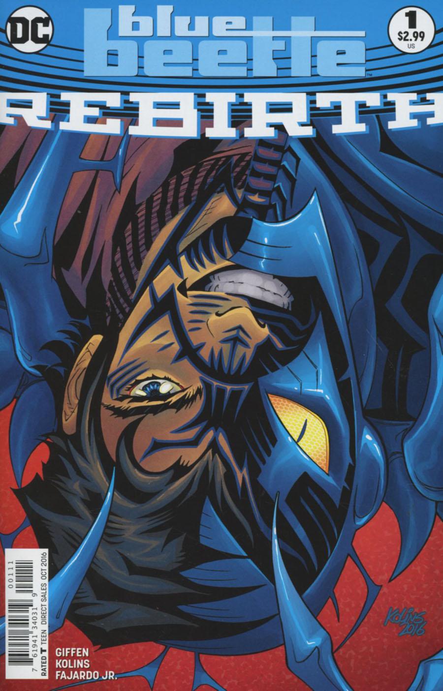 Blue Beetle Rebirth #1 Cover A Regular Scott Kolins Cover