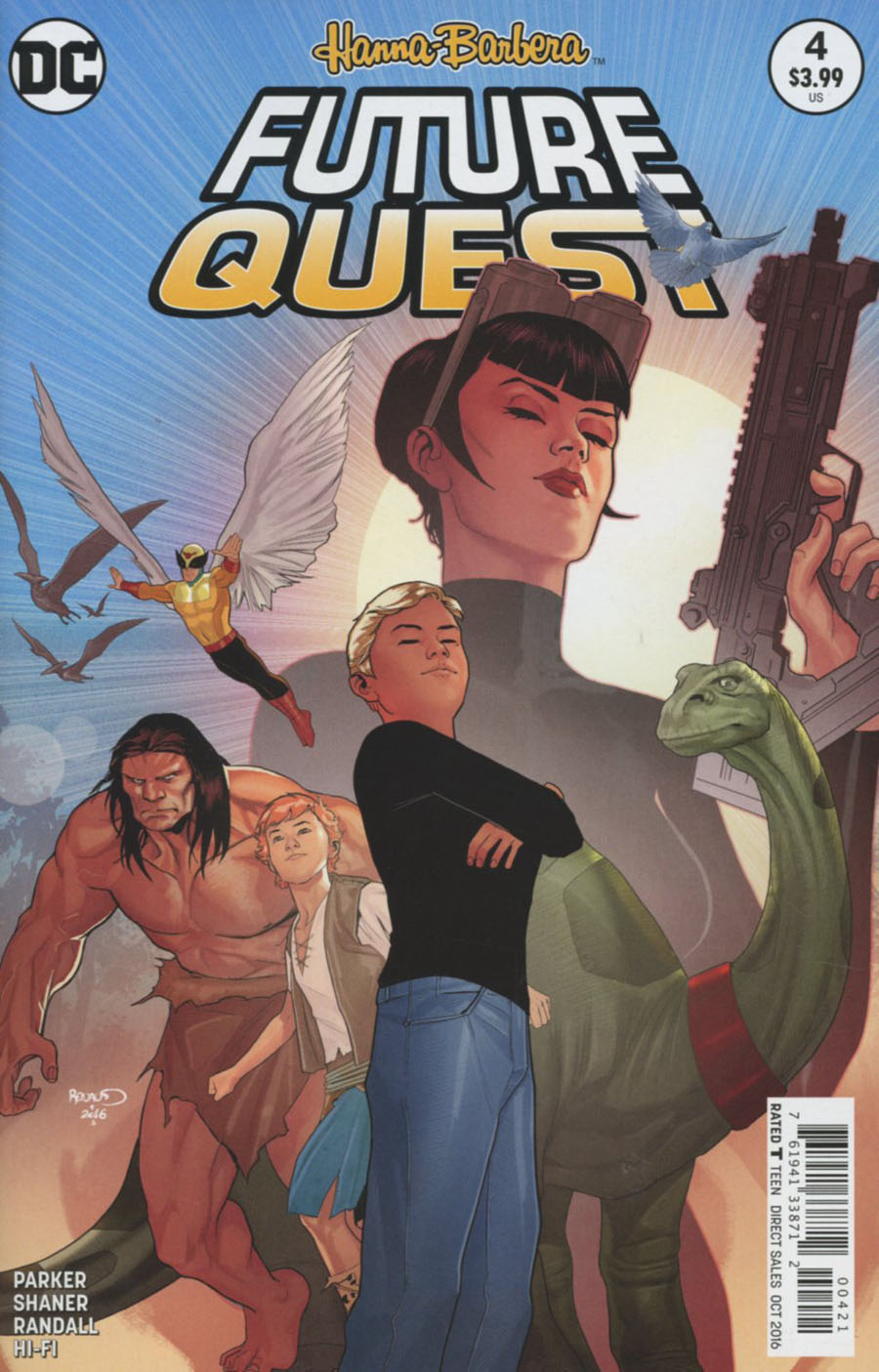 Future Quest #4 Cover B Variant Paul Renaud Cover