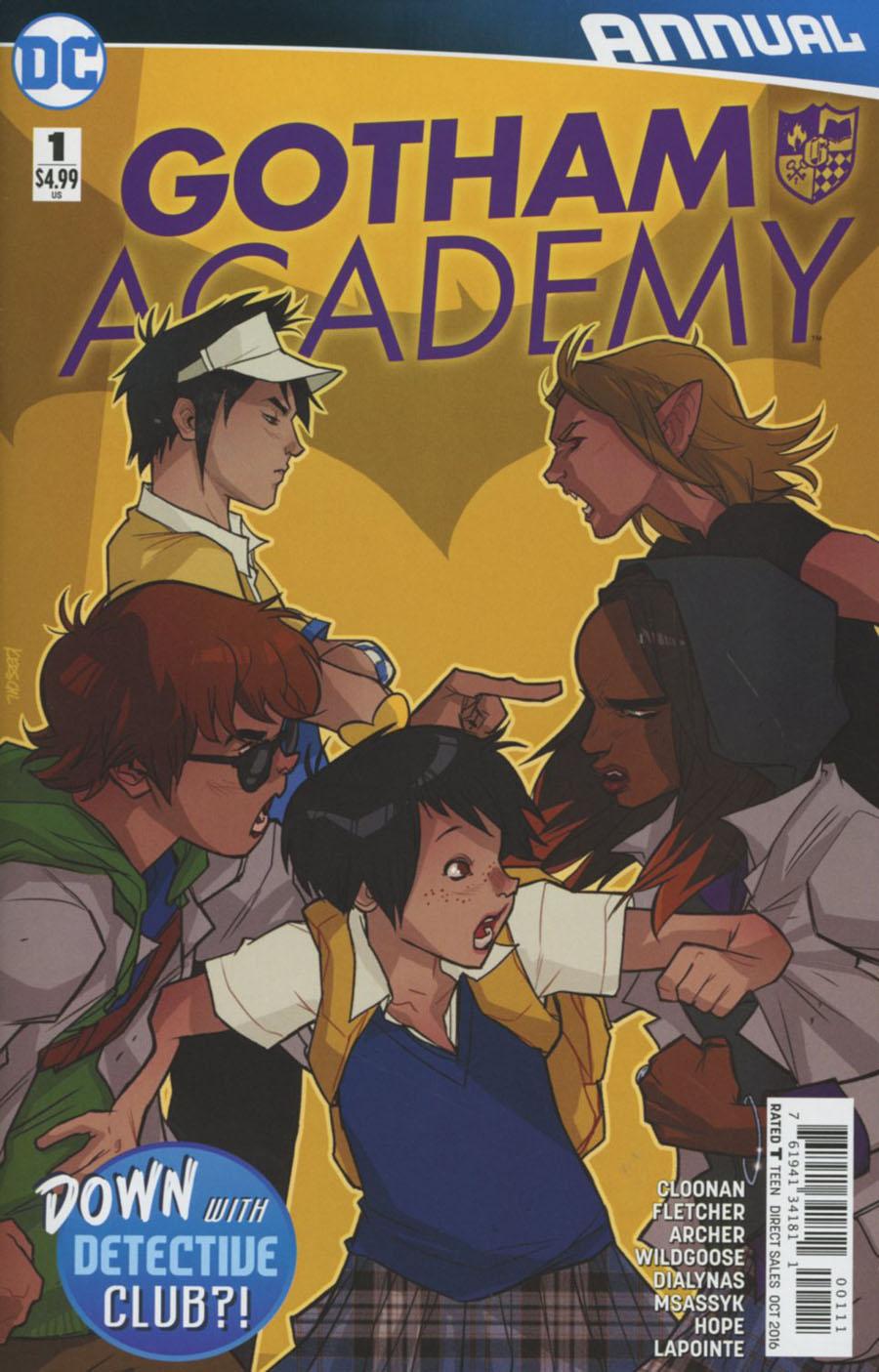 Gotham Academy Annual #1