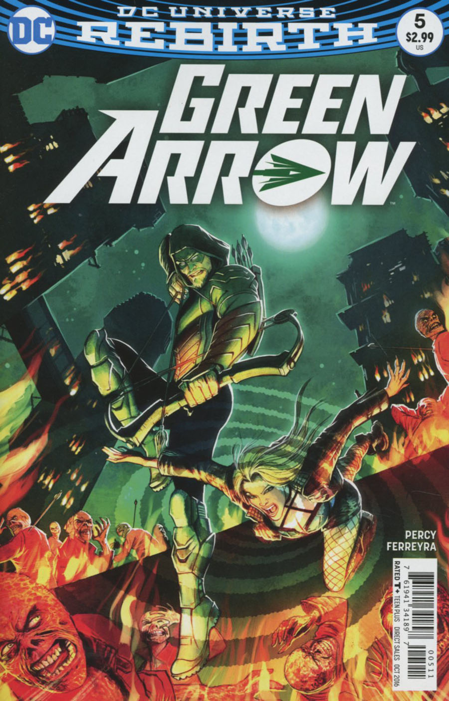Green Arrow Vol 7 #5 Cover A Regular Juan Ferreyra Cover
