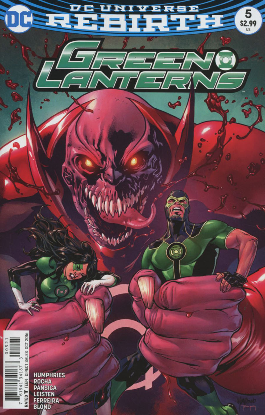 Green Lanterns #5 Cover B Variant Emanuela Lupacchino Cover