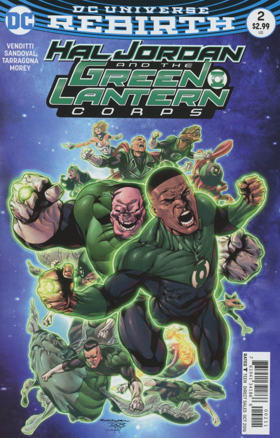 Hal Jordan And The Green Lantern Corps #2 Cover A Regular Rafa Sandoval Cover