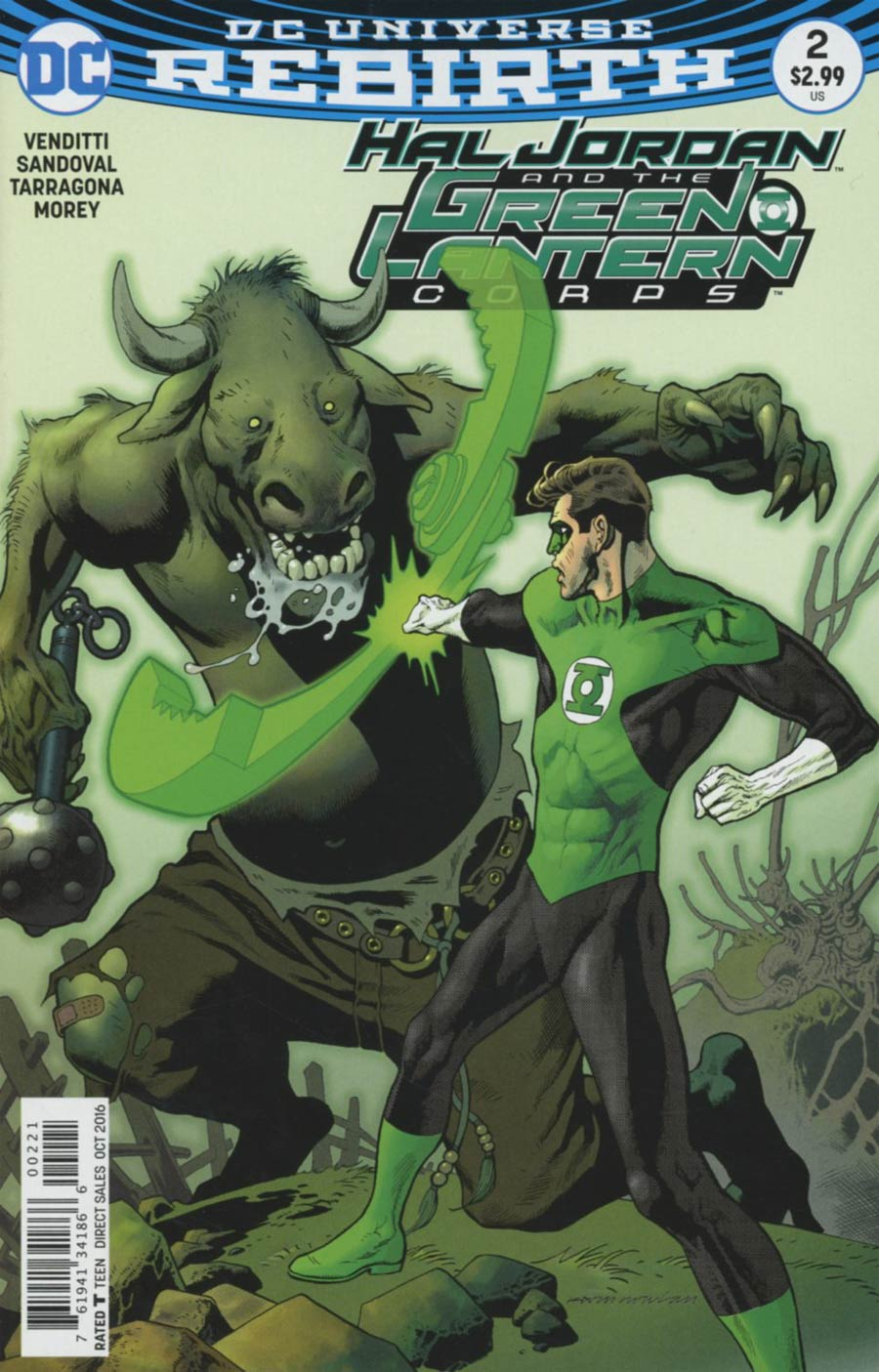 Hal Jordan And The Green Lantern Corps #2 Cover B Variant Kevin Nowlan Cover