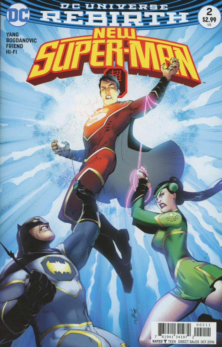 New Super-Man #2 Cover A Regular Viktor Bogdanovic Cover