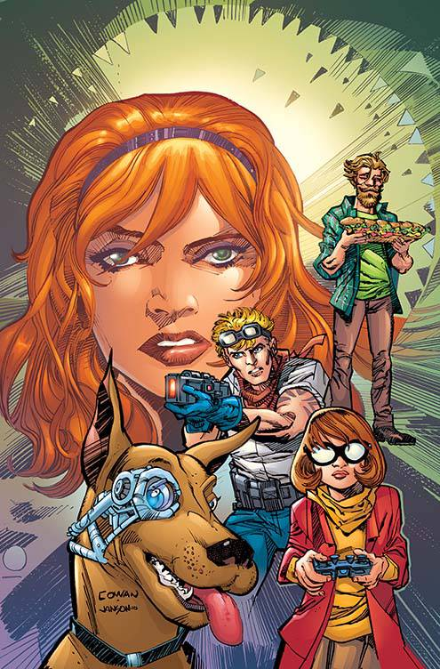 Scooby Apocalypse #4 Cover B Variant Denys Cowan Cover