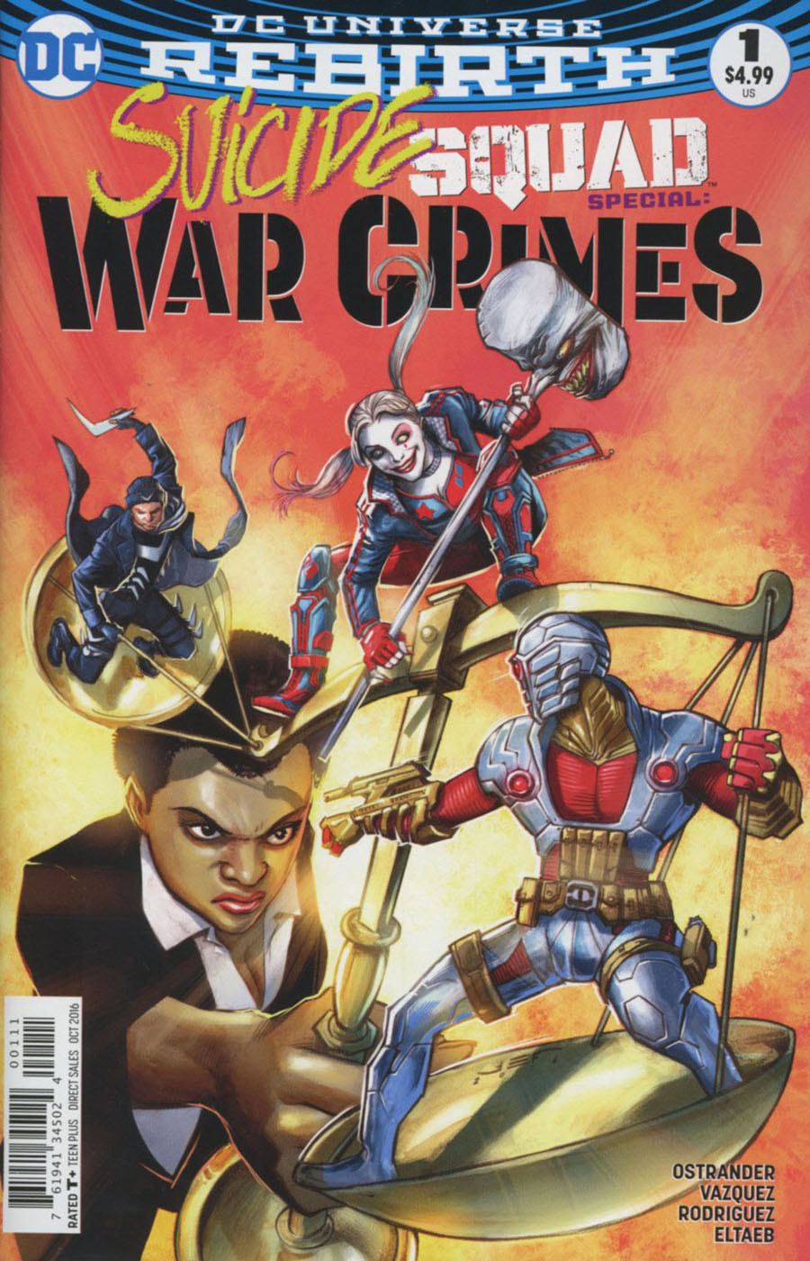 Suicide Squad War Crimes Special #1