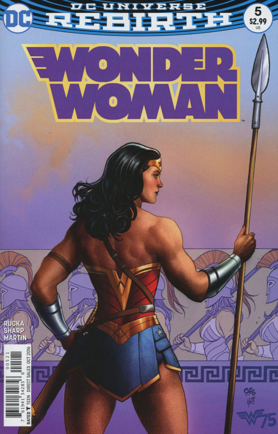 Wonder Woman Vol 5 #5 Cover B Variant Frank Cho Cover