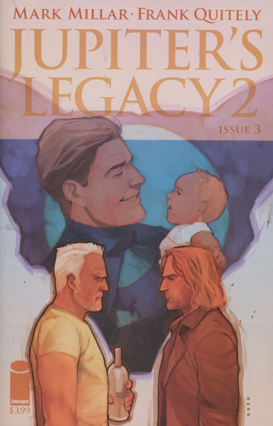 Jupiters Legacy Vol 2 #3 Cover B Variant Phil Noto Cover