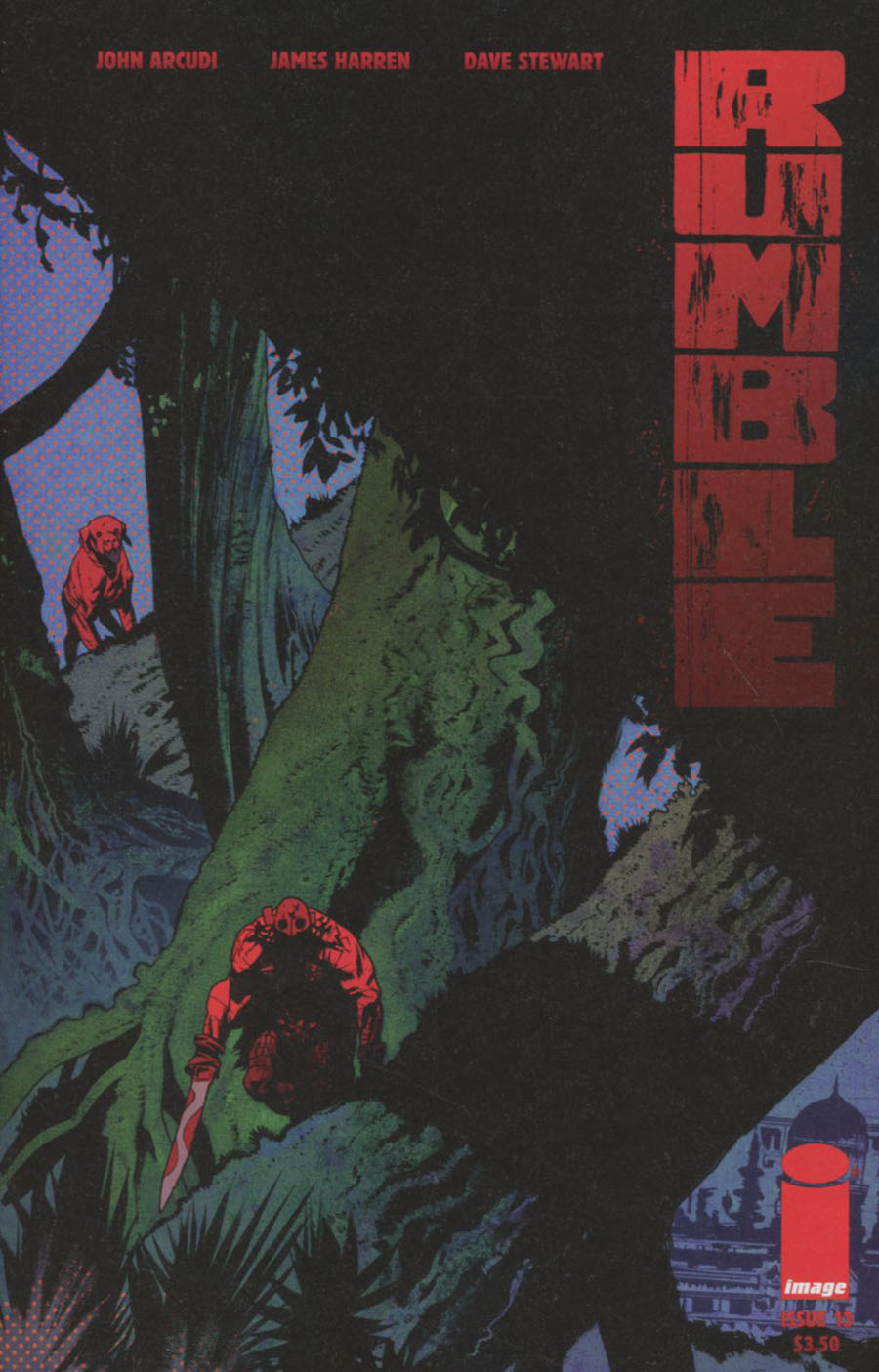 Rumble #13 Cover A James Harren