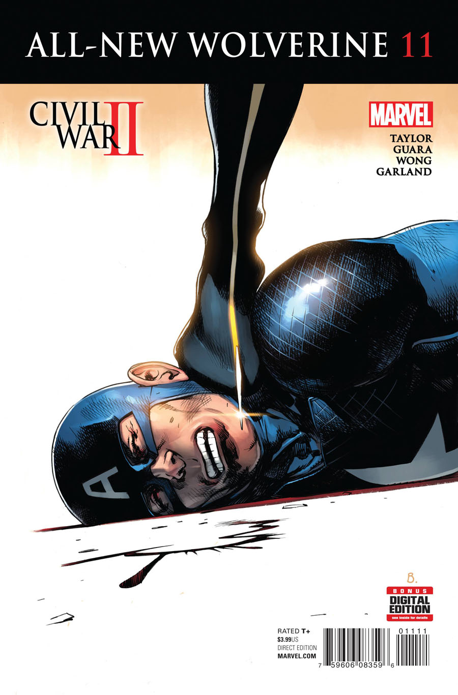 All-New Wolverine #11 Cover A Regular Bengal Cover (Civil War II Tie-In)
