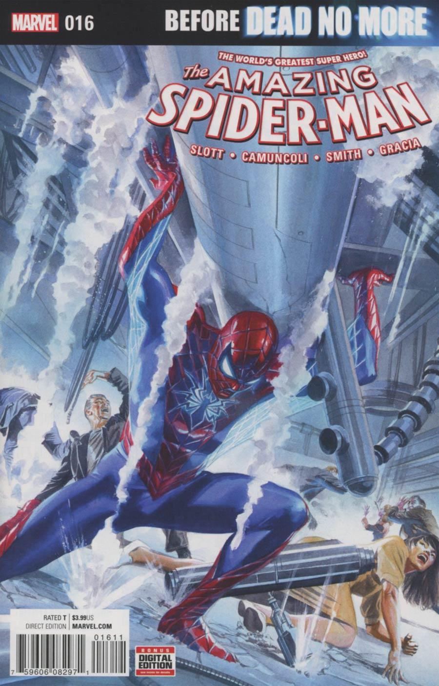 Amazing Spider-Man Vol 4 #16 Cover A Regular Alex Ross Cover (Dead No More Prelude)