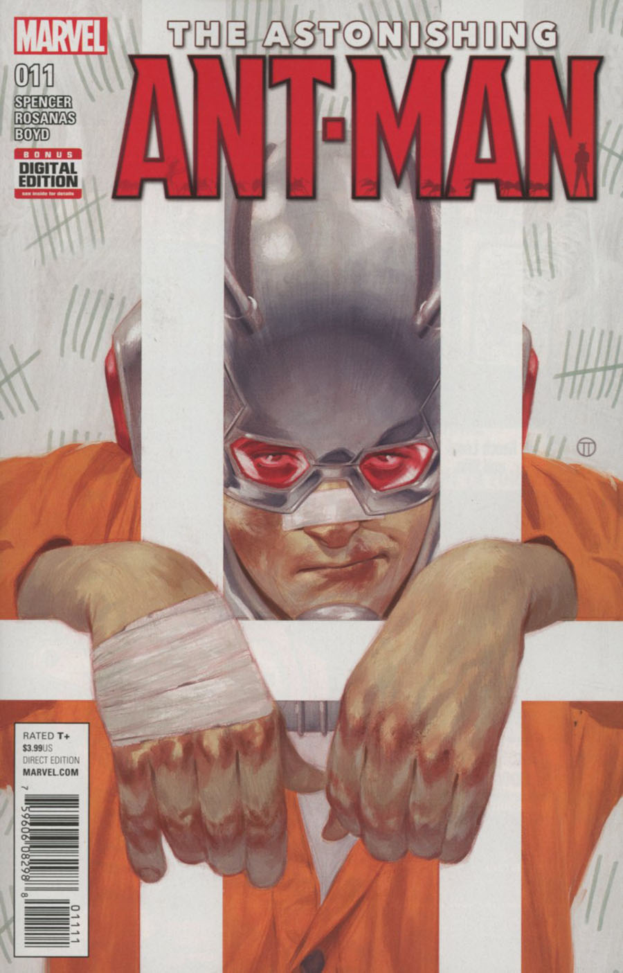 Astonishing Ant-Man #11 Cover A Regular Julian Totino Tedesco Cover (Civil War II Tie-In)