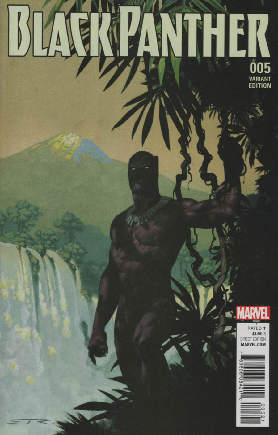 Black Panther Vol 6 #5 Cover B Variant Esad Ribic Connecting A Cover