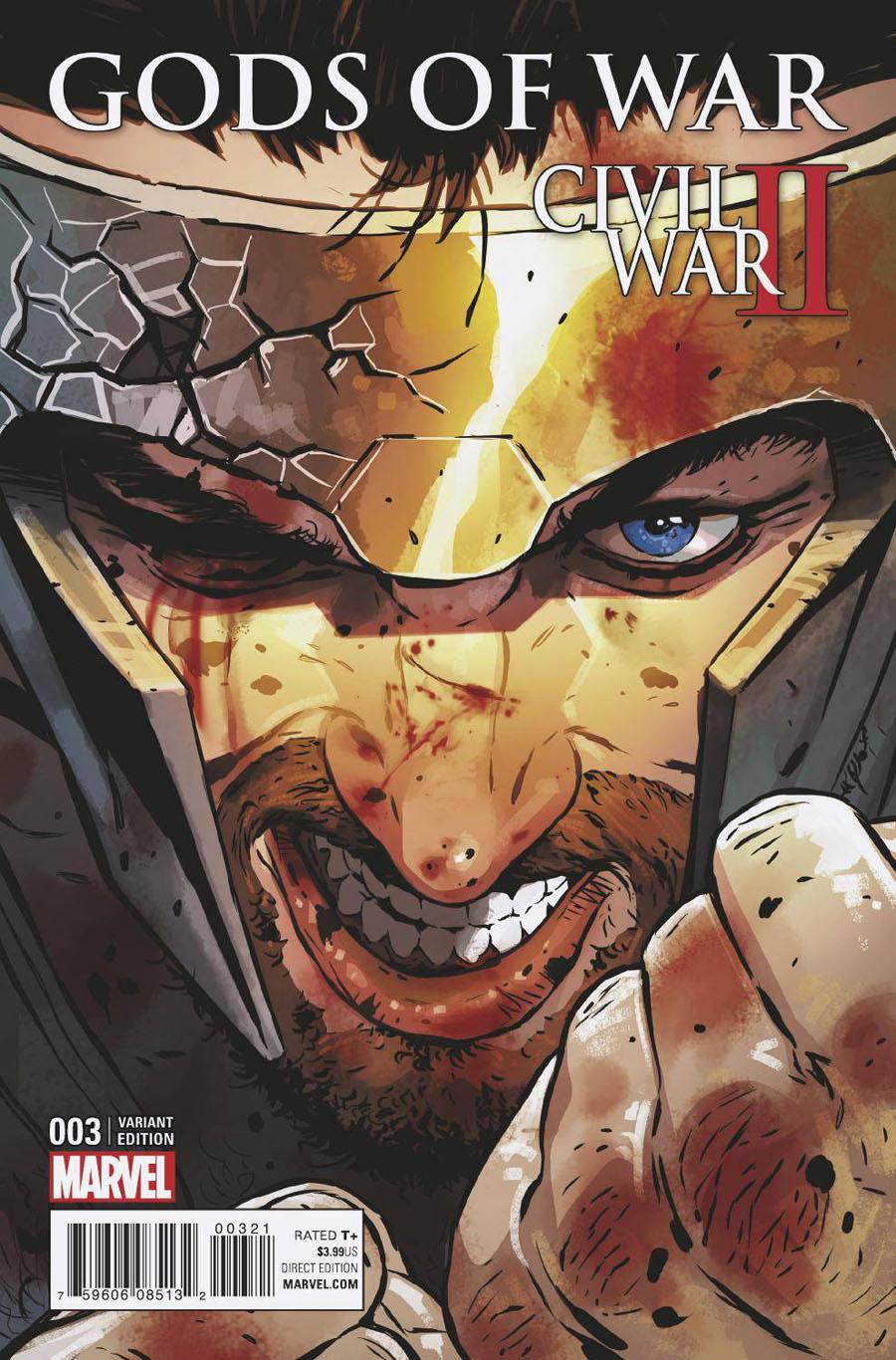 Civil War II Gods Of War #3 Cover B Variant Cover