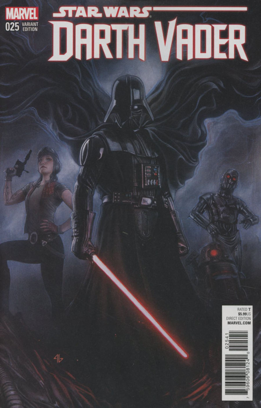 Darth Vader #25 Cover C Variant Adi Granov Cover