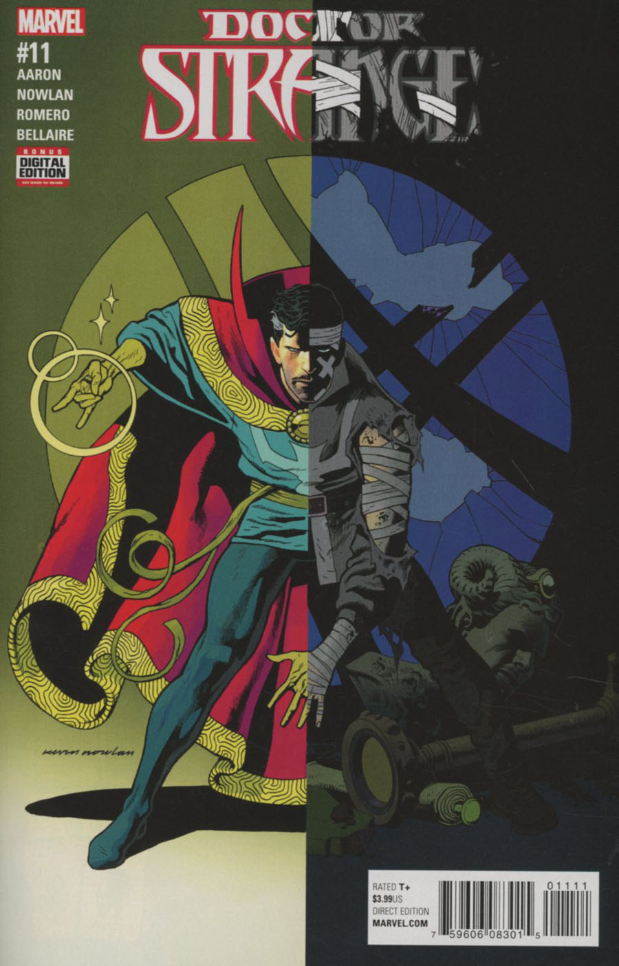 Doctor Strange Vol 4 #11 Cover A Regular Kevin Nowlan Cover