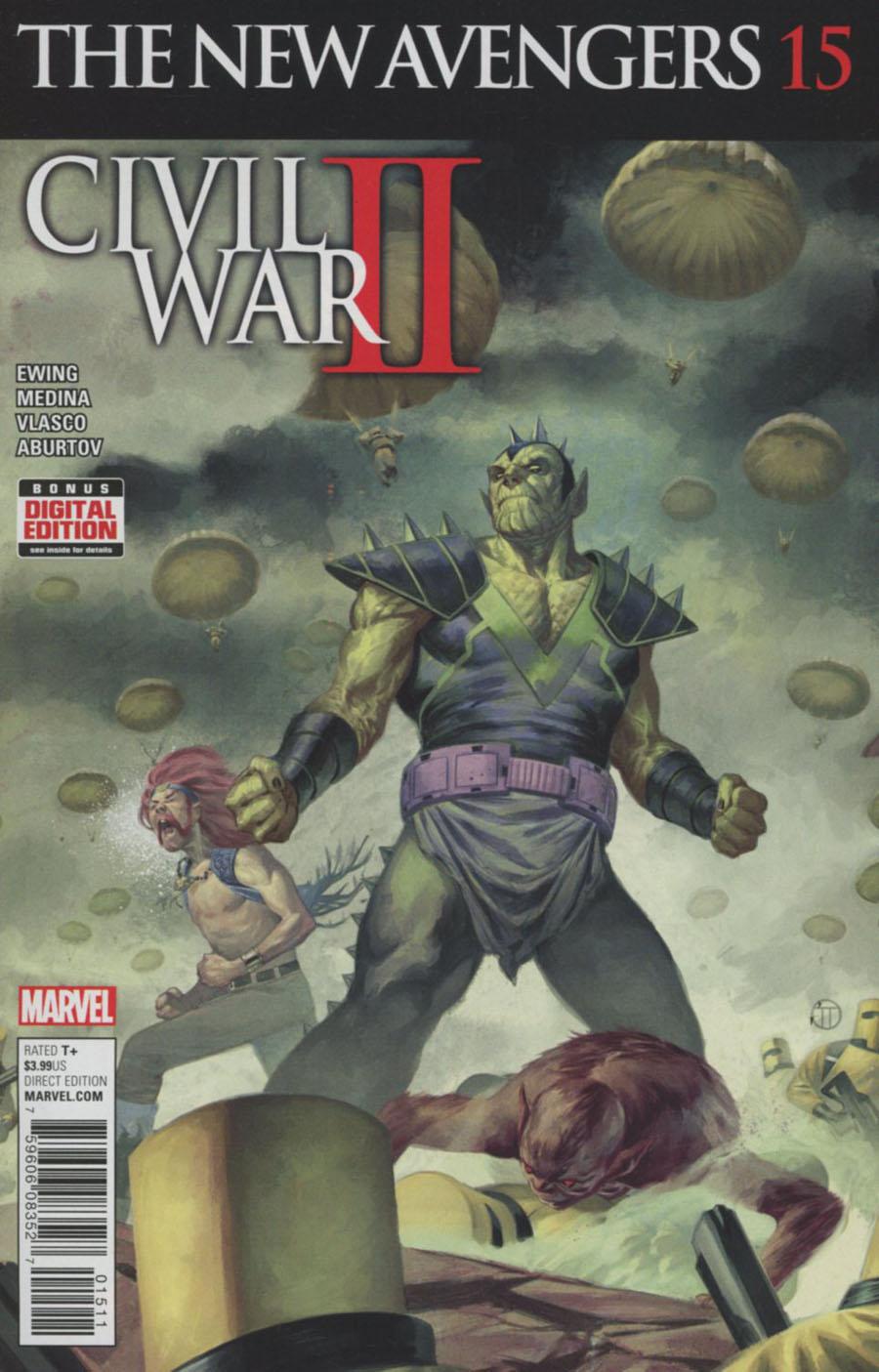 New Avengers Vol 4 #15 (Civil War II Tie-In)