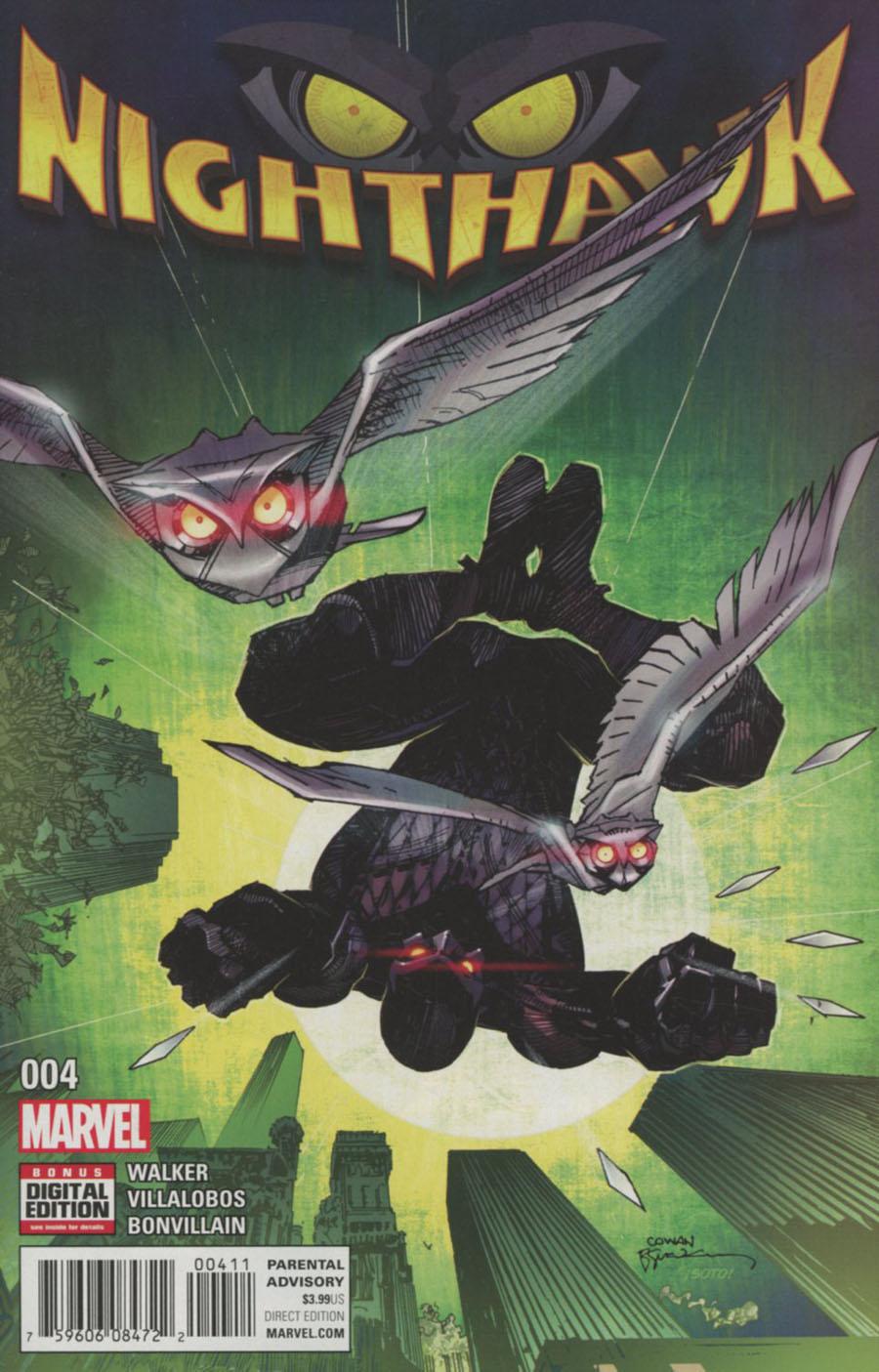 Nighthawk Vol 2 #4