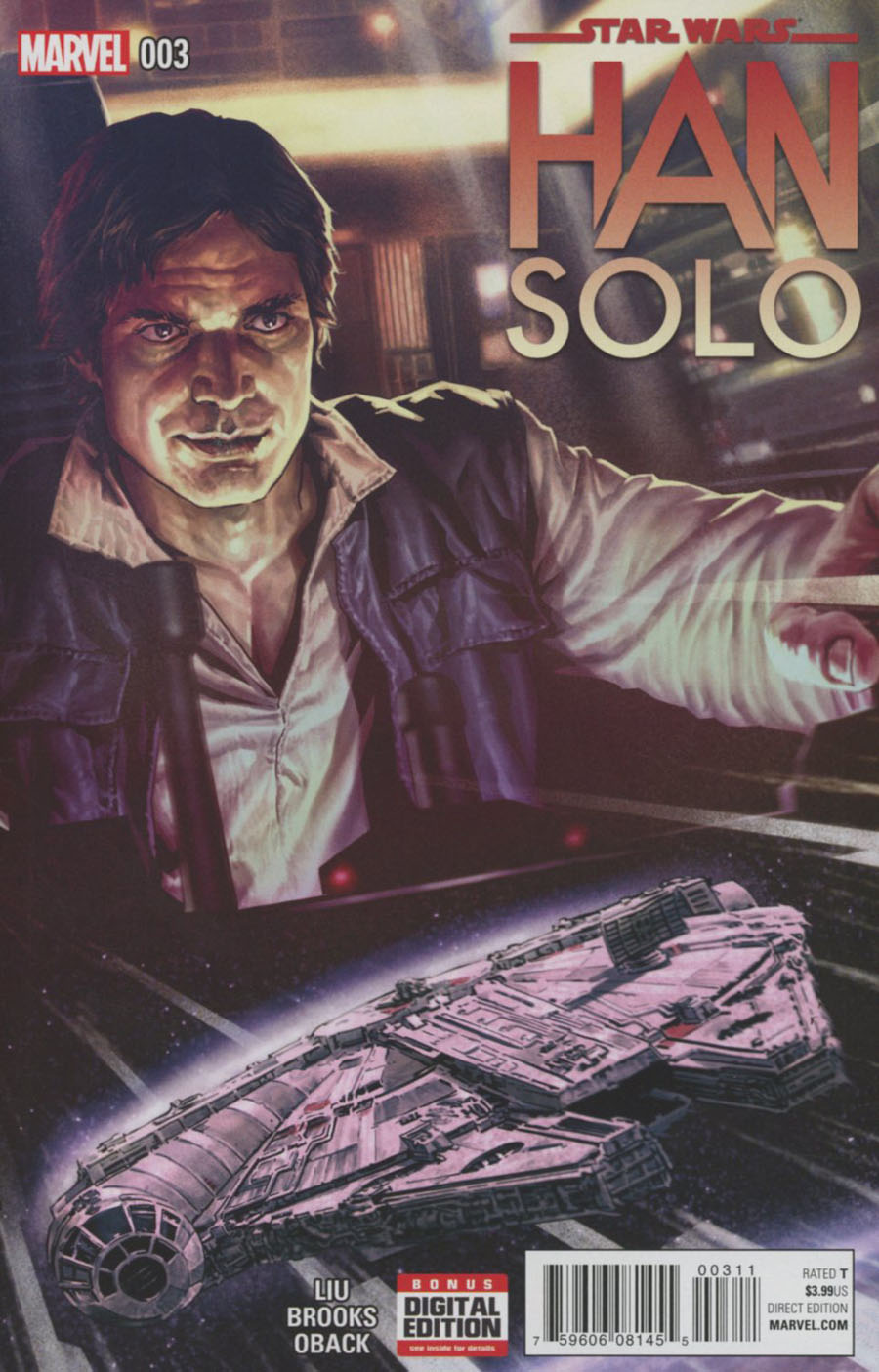 Star Wars Han Solo #3 Cover A Regular Lee Bermejo Cover
