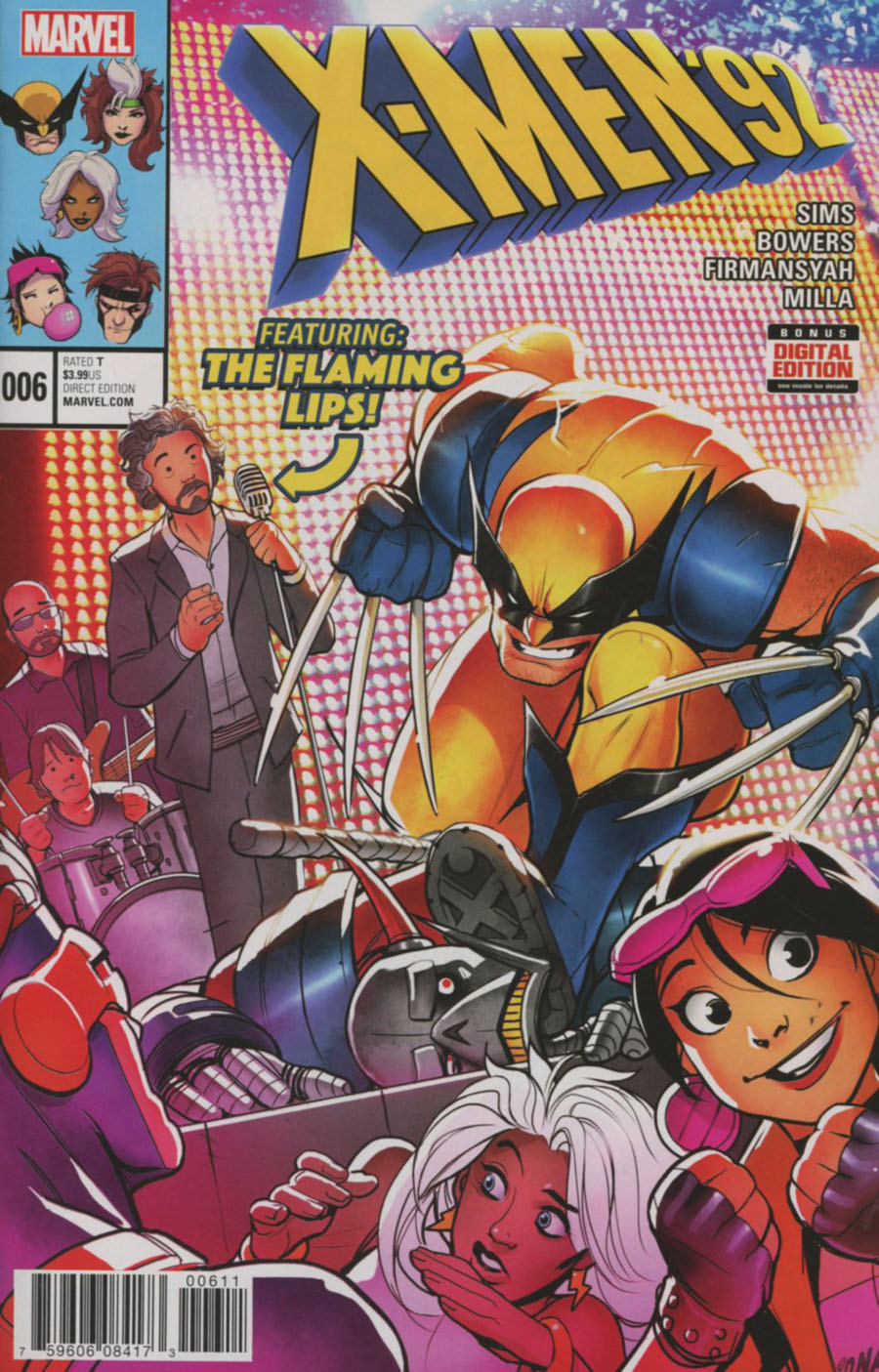 X-Men 92 Vol 2 #6 Cover A Regular David Nakayama Cover