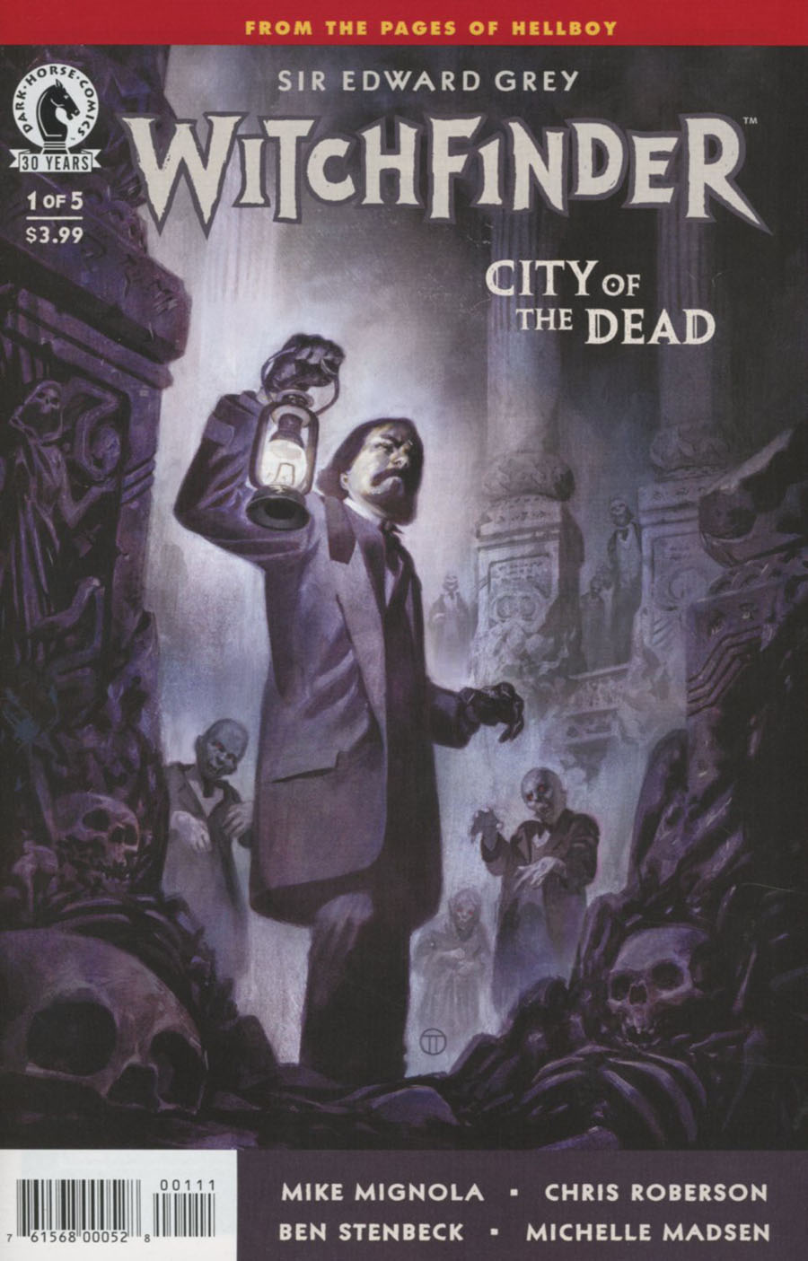 Witchfinder City Of The Dead #1