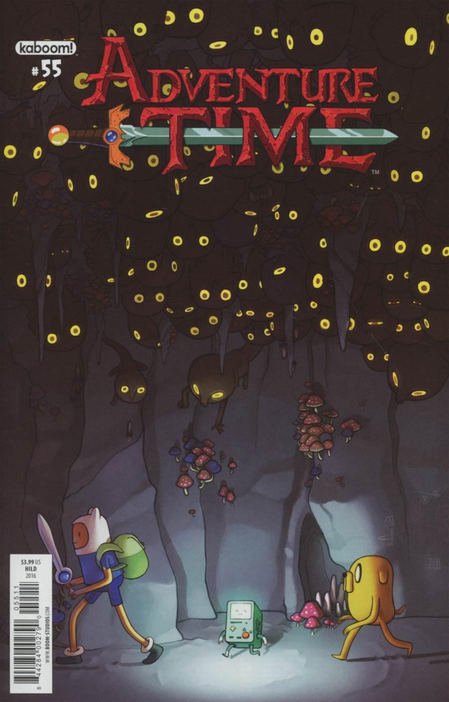 Adventure Time #55 Cover A Regular Myra Hild Cover