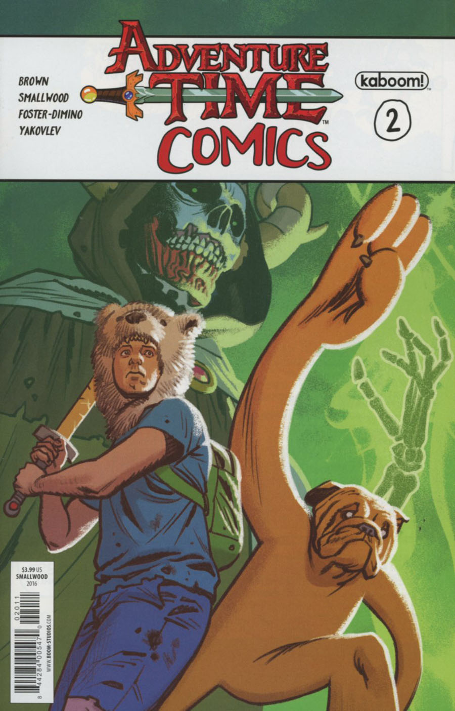Adventure Time Comics #2 Cover A Regular Greg Smallwood Cover