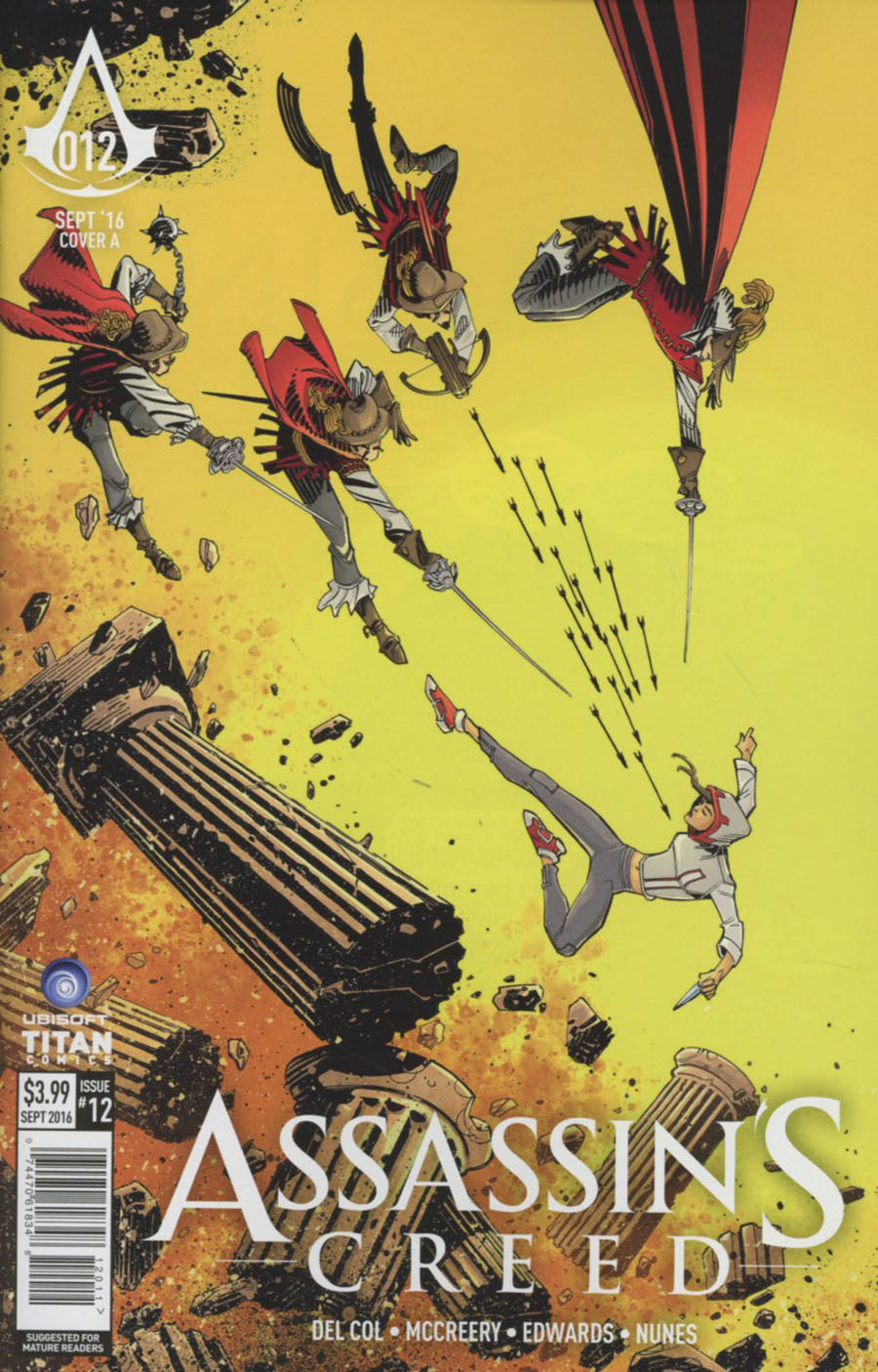 Assassins Creed #12 Cover A Regular John McCrea Cover