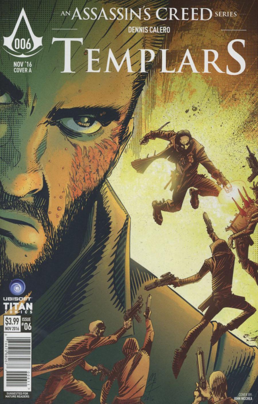 Assassins Creed Templars #6 Cover A Regular John McCrea Cover