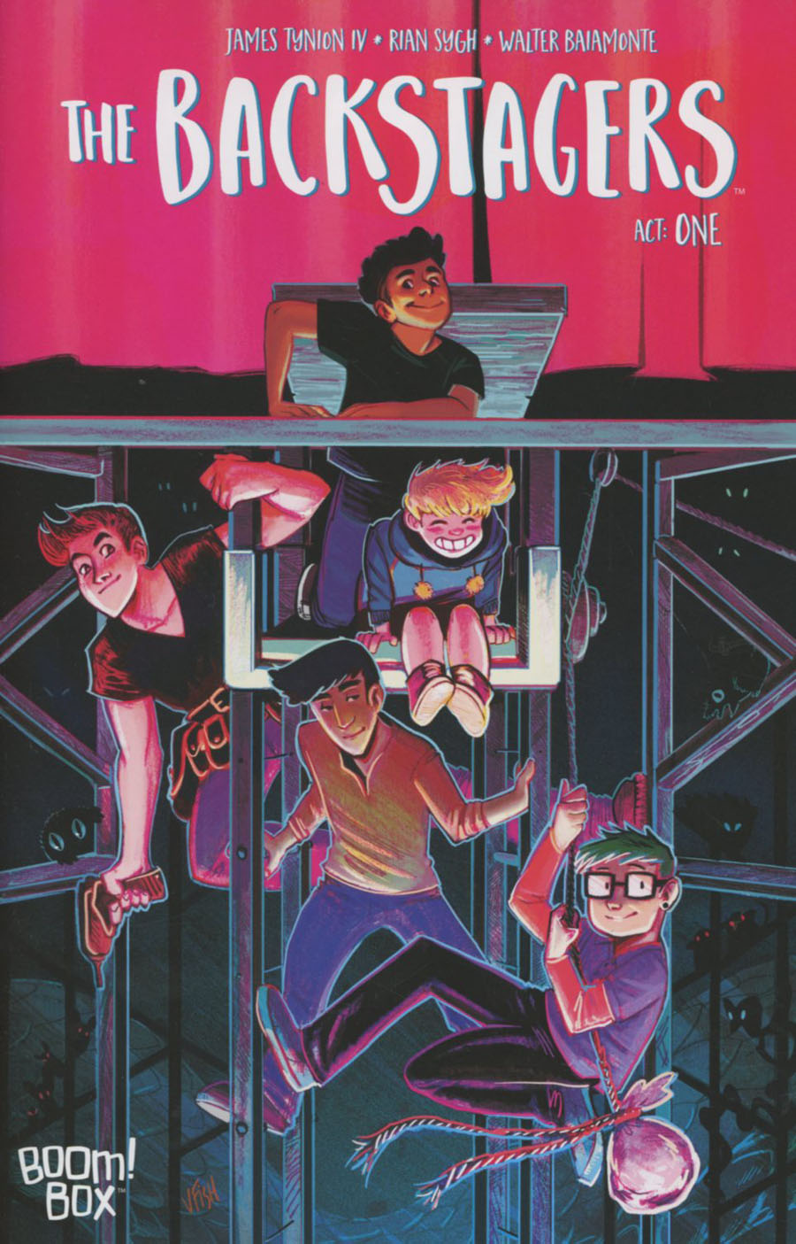 Backstagers #1 Cover A 1st Ptg Regular Veronica Fish Cover