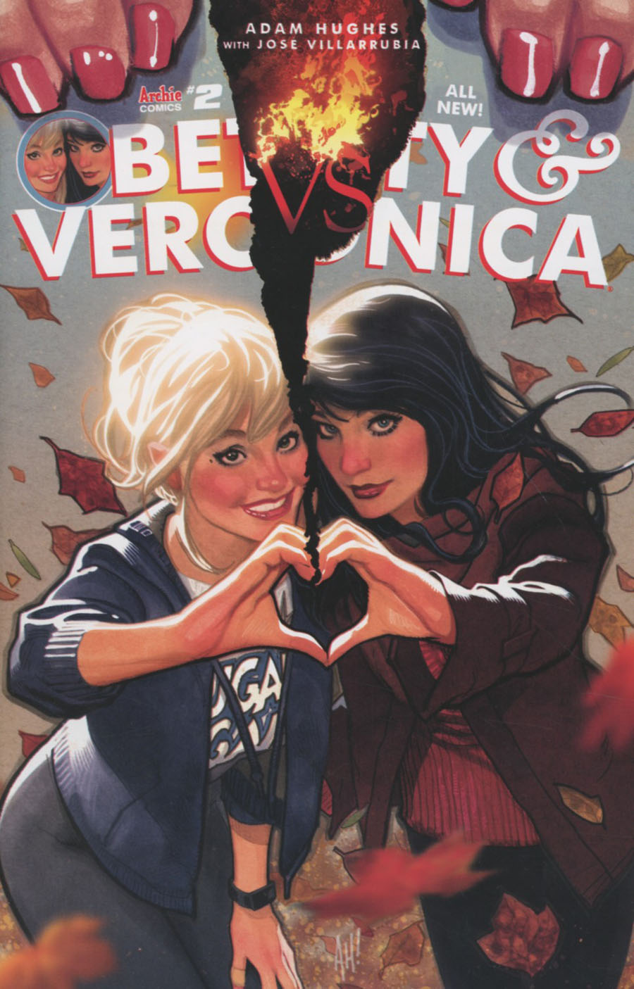 Betty & Veronica Vol 2 #2 Cover A Regular Adam Hughes Cover