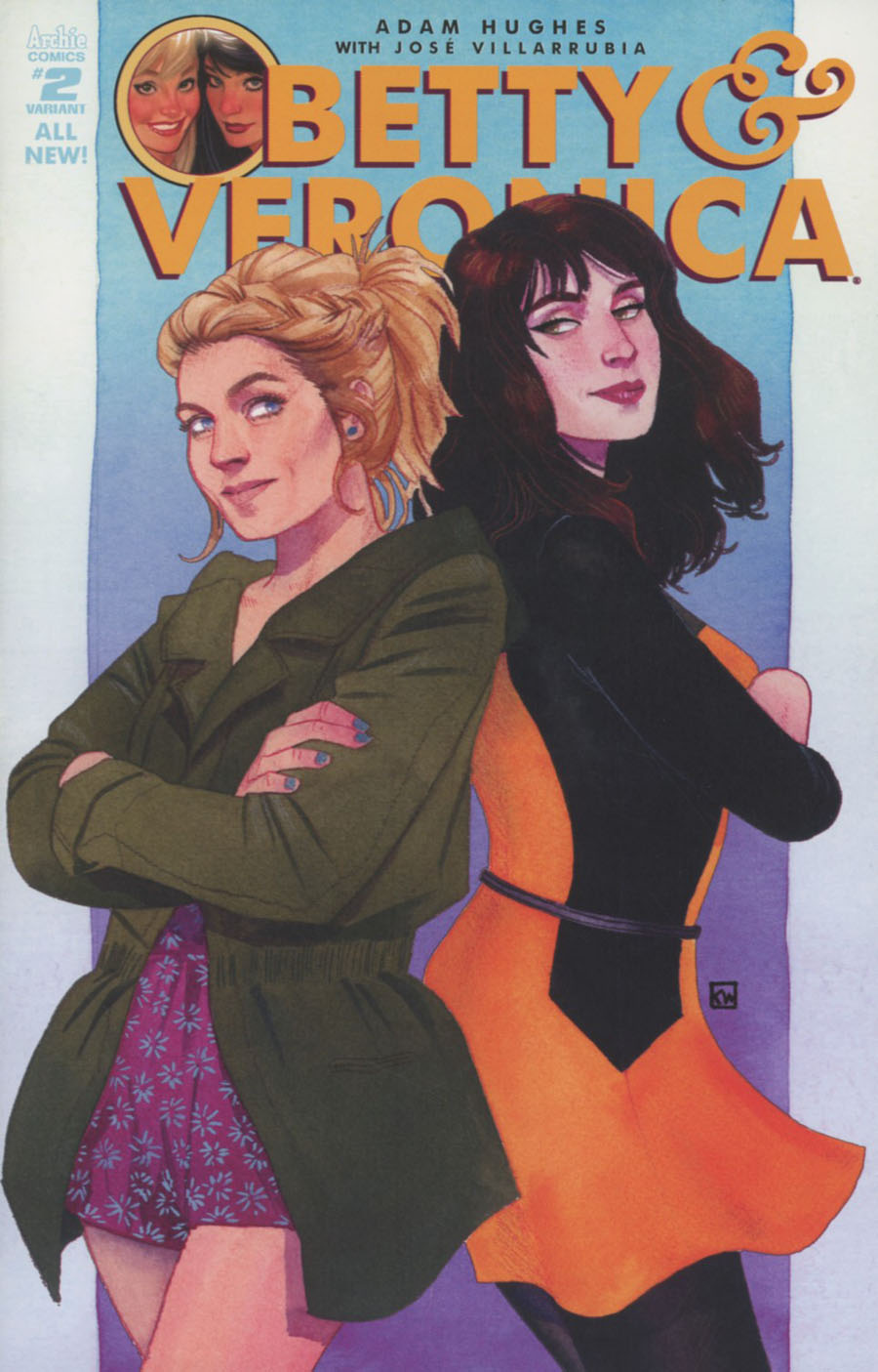 Betty & Veronica Vol 2 #2 Cover E Variant Kevin Wada Cover